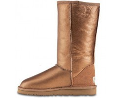 UGG TALL METALLIC CHESTNUT