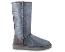 UGG TALL METALLIC GREY