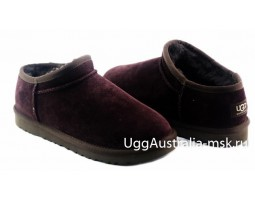 UGG SLIPPER TASMAN CHOCOLATE
