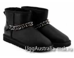 UGG ZANUTTI MINI METALLIC BLACK