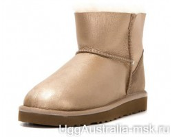 UGG ZIP MINI SOFT GOLD