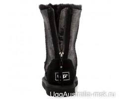 UGG ZIP SNAKE DARK BLACK