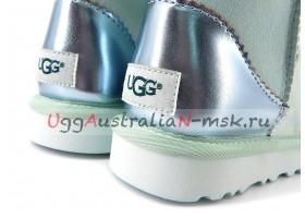 UGG CLASSIC MINI II METALLIC ICEBERG