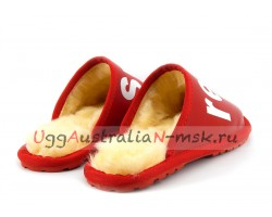 UGG SLIPPER SUPREME LOUIS VUITTON RED