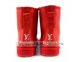 UGG WOMEN SUPREME LOUIS VUITTON RED