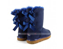 UGG BAILEY BOW II METALLIC NAVY