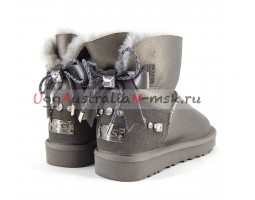 UGG BAILEY MINI II BRAID PEWTER