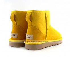 UGG CLASSIC II MINI SUNFLOWER