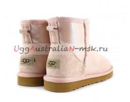 UGG CLASSIC MINI II GLITTER ROSE