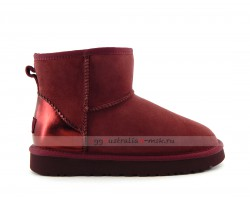 UGG CLASSIC MINI II METALLIC PORT