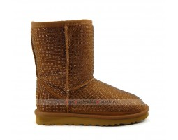 UGG CLASSIC SHORT MIDDLE CYLINDER BROWN