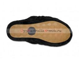 UGG FLUFF YEAH SLIDE BLACK