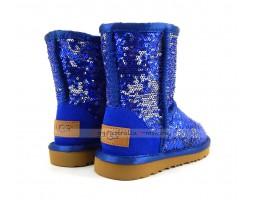 UGG KIDS SPARKLES BLUE
