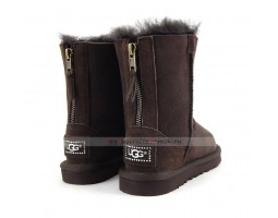 UGG KIDS ZIP CHOCOLATE
