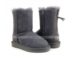 UGG KIDS ZIP GREY