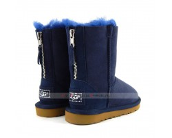 UGG KIDS ZIP NAVY