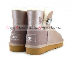 UGG MINI BAILEY BLING II METALLIC AZURE