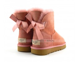 UGG MINI BAILEY BOW II REDWOOD
