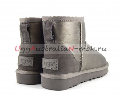 UGG MINI II METALLIC PEWTER
