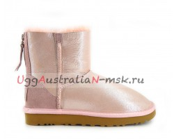 UGG MINI ZIP II GLITTER ROSE