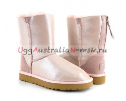 UGG SHORT II ZIP PINK