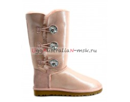 UGG BAILEY BLING TALL GLITTER ROSE