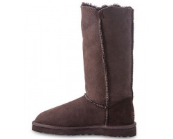 UGG BAILEY BUTTON TRIPLET CHOCOLATE