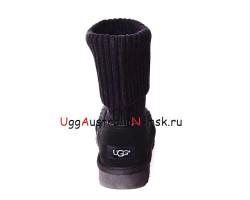UGG CLASSIC KNIT BLACK