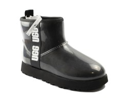UGG CLASSIC CLEAR MINI BLACK