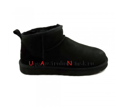 UGG CLASSIC II ULTRA MINI BLACK