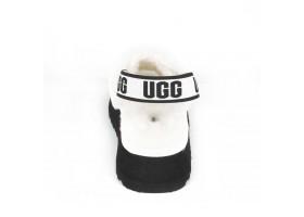UGG  WOMEN'S DISCO SLIDE SEASHELL WHITE