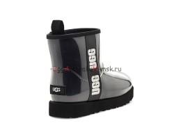 UGG CLASSIC CLEAR MINI BLACK