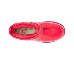 UGG KID KID'S CLASSIC CLEAR MINI HIBISCUS PINK