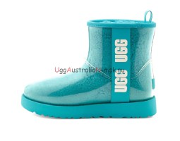 UGG KID'S CLASSIC CLEAR MINI WATER