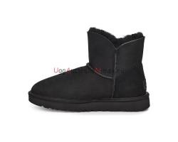 UGG BAILEY ZIP MINI BOOT BLACK